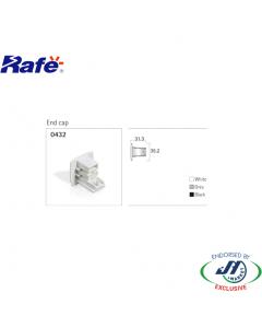 Rafe End Cap in White