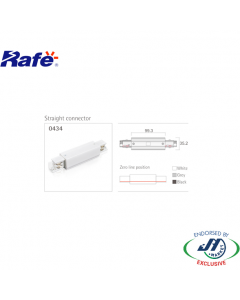 Rafe I Connector in White