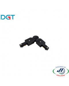 DGT Hard Flexible Track Bar Joiner in Black