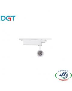 DGT 10W 4000k Neutral White LED Track Light in White