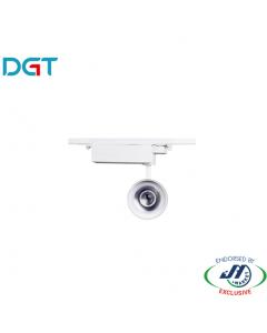DGT 17W 4000k Neutral White LED Track Light in White