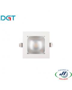 DGT 10W 3000k Warm White Square LED Downlight