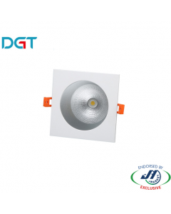 DGT 14W Alluminum Anti-glare & Flicker Free 5000k Cool White LED Downlight