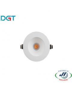 DGT 10W Anti-glare 5000k Cool White LED Downlight
