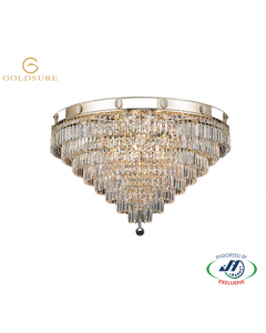 Imperial Gold 13 Light 8 Tier Chandelier