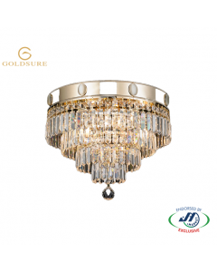Imperial Gold 4 Light 4 Tier Chandelier