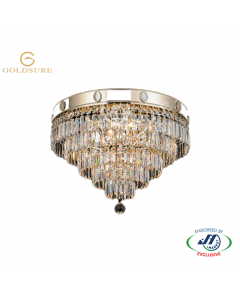 Imperial Gold 5 Light 5 Tier Chandelier