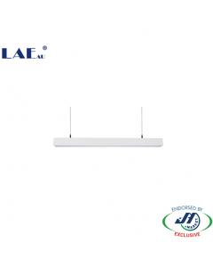 LAE 30W 6000k Daylight Long LED Linear Light in Black