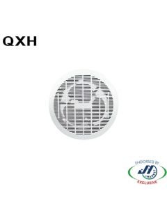 QXH 25W Ceiling Mounted Exhaust Fan Round in White